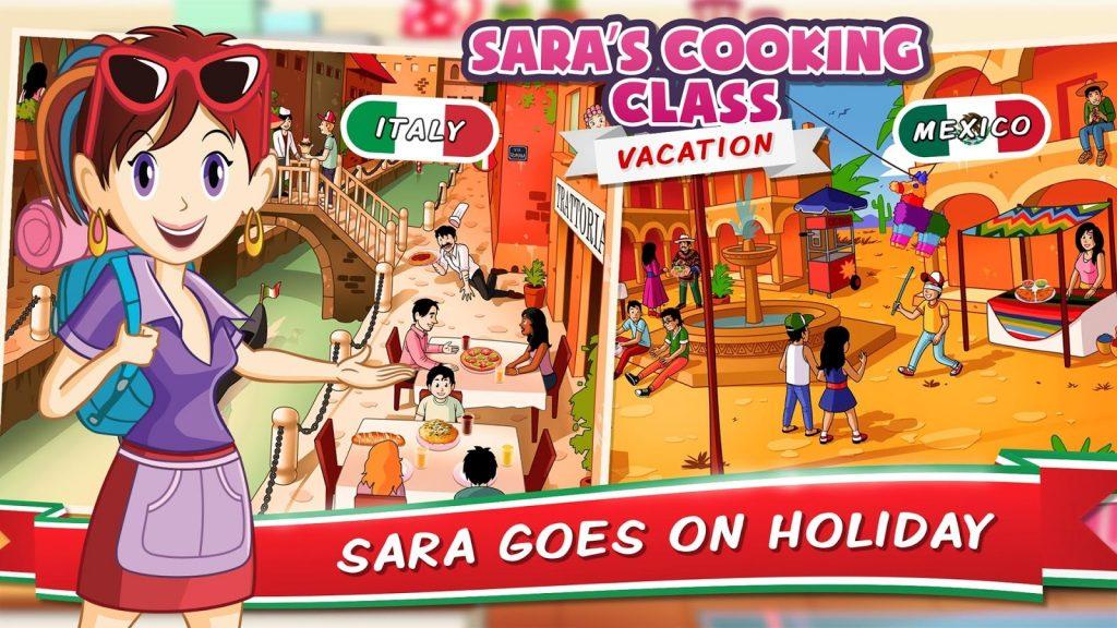 Lekcje gotowania z Sarą