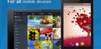 Tapety HD na smartfon dotykowy
