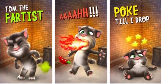 Gadający kot Tom